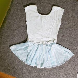 Little Girls' skirted leotard Sz. Med